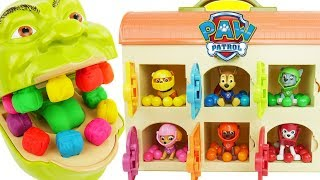 Learning Colors with Paw Patrol Sea Patrol for Kids Chase & Skye Bubbles, Shimmer and Shine Turtle