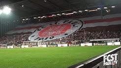 Die Choreo vor dem Pokalspiel gegen den BVB I fcstpauli.tv