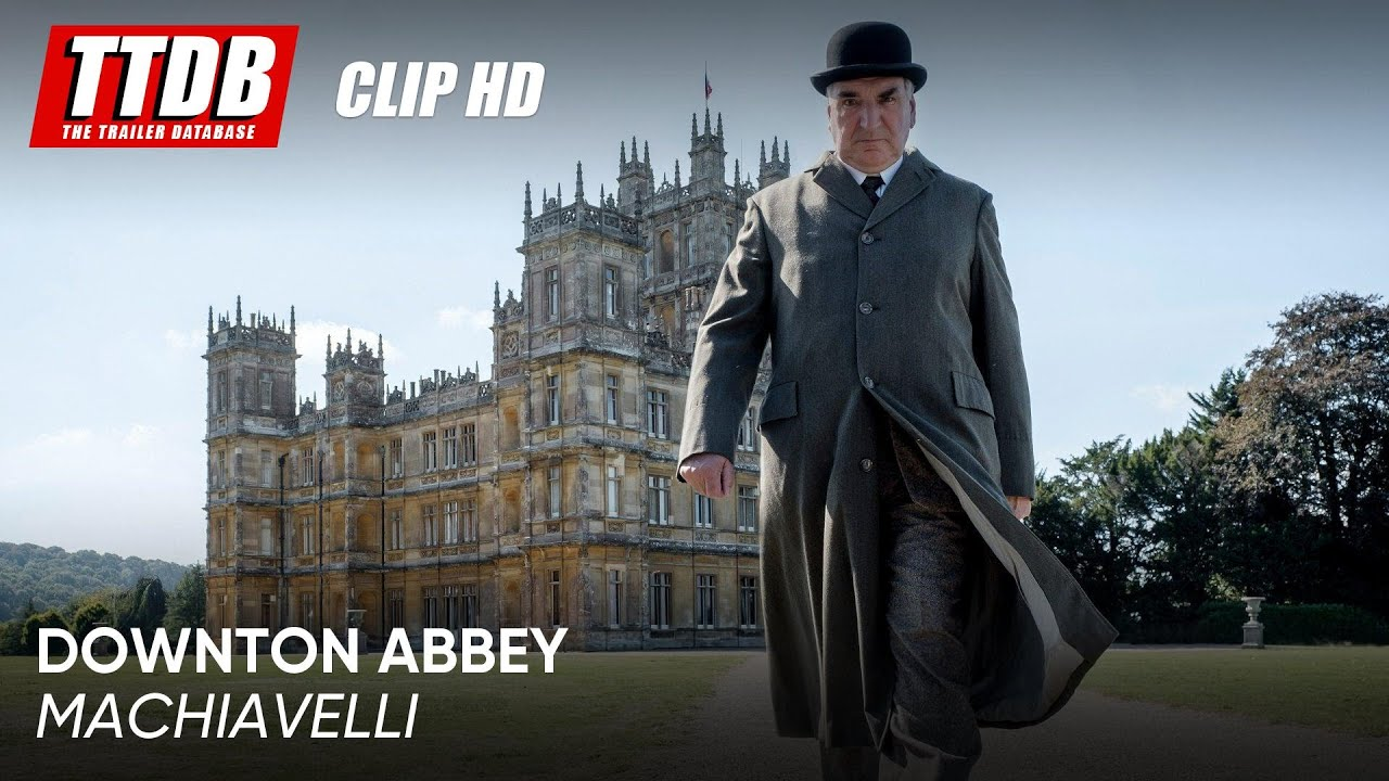 Downton Abbey | Clip: Machiavelli