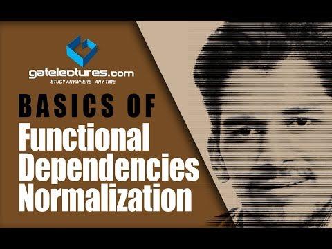 Basics of Functional Dependencies normalization