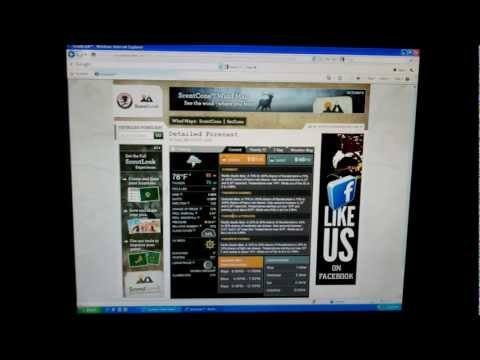 North American Hunting Club's ScoutLook Weather Center Demo
