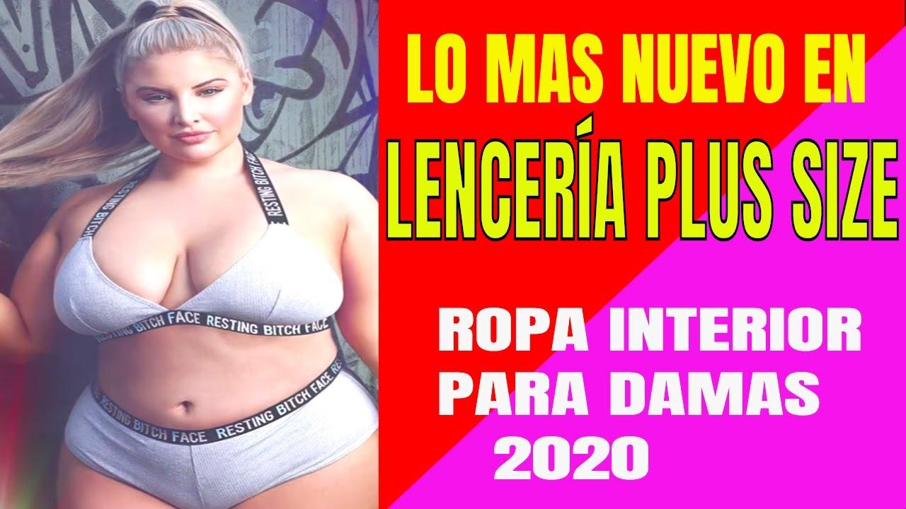 MEJOR ROPA INTERIOR PARA DAMAS   lencería plus size 2020