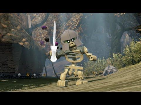 Lego The Hobbit How To Unlock Barrow Wight Amp Free Roam