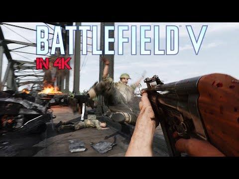 Battlefield 5 - Twisted Steel German Attack Highlights (No HUD Immersion 4K)