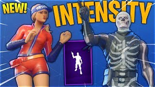 *NEW* Intensity Emote With All Popular Fortnite Skins..!