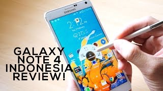 Samsung Galaxy Note 4 Indonesia Review