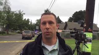 Gresham police officer discusses shooting incident