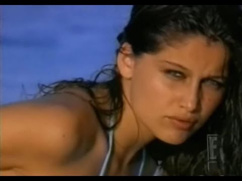 Laetitia Casta in Bahamas for Victoria's Secret Swim 2001...... Music By Lollita