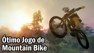DESCENDERS - JOGO DE MOUNTAIN BIKE INCRÍVEL! (Early Access PC Gameplay)