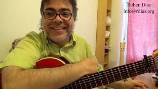Singer, rhythm, how to pull back the click + Añadido in Tangos / Flamenco lesson / Skype Ruben Diaz