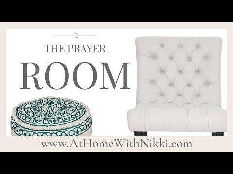 HOME DECOR | PRAYER ROOM MAKEOVER