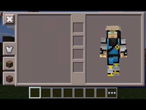 Minecraft PE Raiden Mortal Kombat Skin Costume Download YouTube - Skin para minecraft pe download