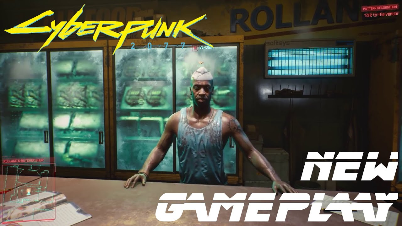 Cyberpunk 2077 - Gameplay (Q&A panel)