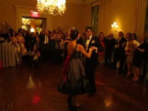 Justin & Renee First Beautiful Wedding Dance - Swing Blues Lindy Hop Romantic