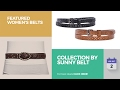 Collection By Sunny Belt Featured Women's Belts