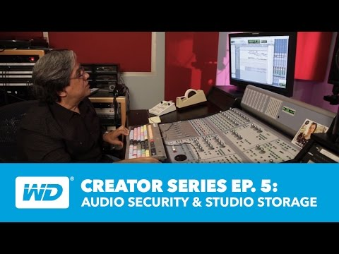 Creator Series: Audio Security & Studio Storage - Ep. 5