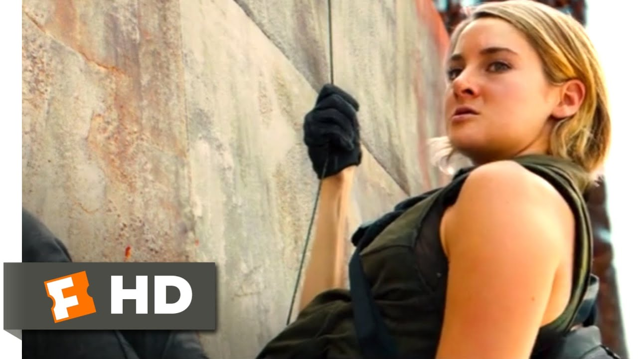 Download The Divergent Series: Allegiant (2016) - Over the Wall Scene (1/10) | Movieclips
