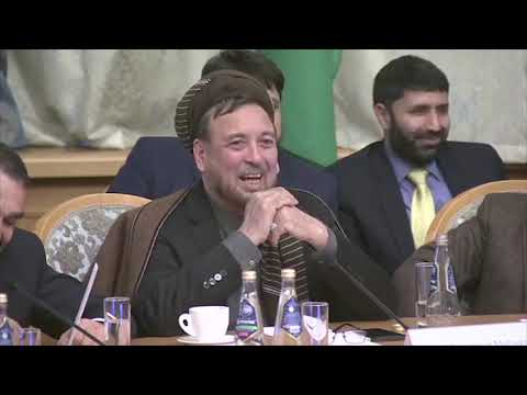 Deputy Chief Executive Mohammad Mohaqiq's Speech At Moscow T