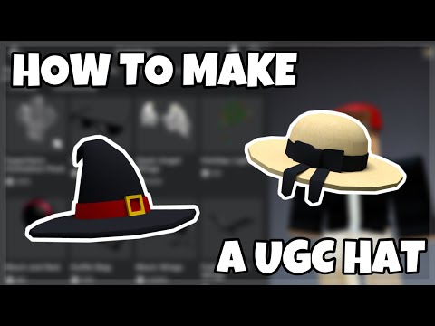 How To Make A Ugc Hat Tutorial Roblox Studio Youtube