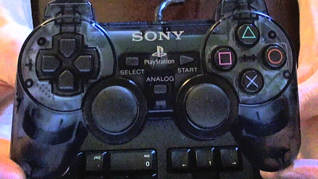 Sony Ps2 Dualshock 2 Controller Review Youtube Playstation