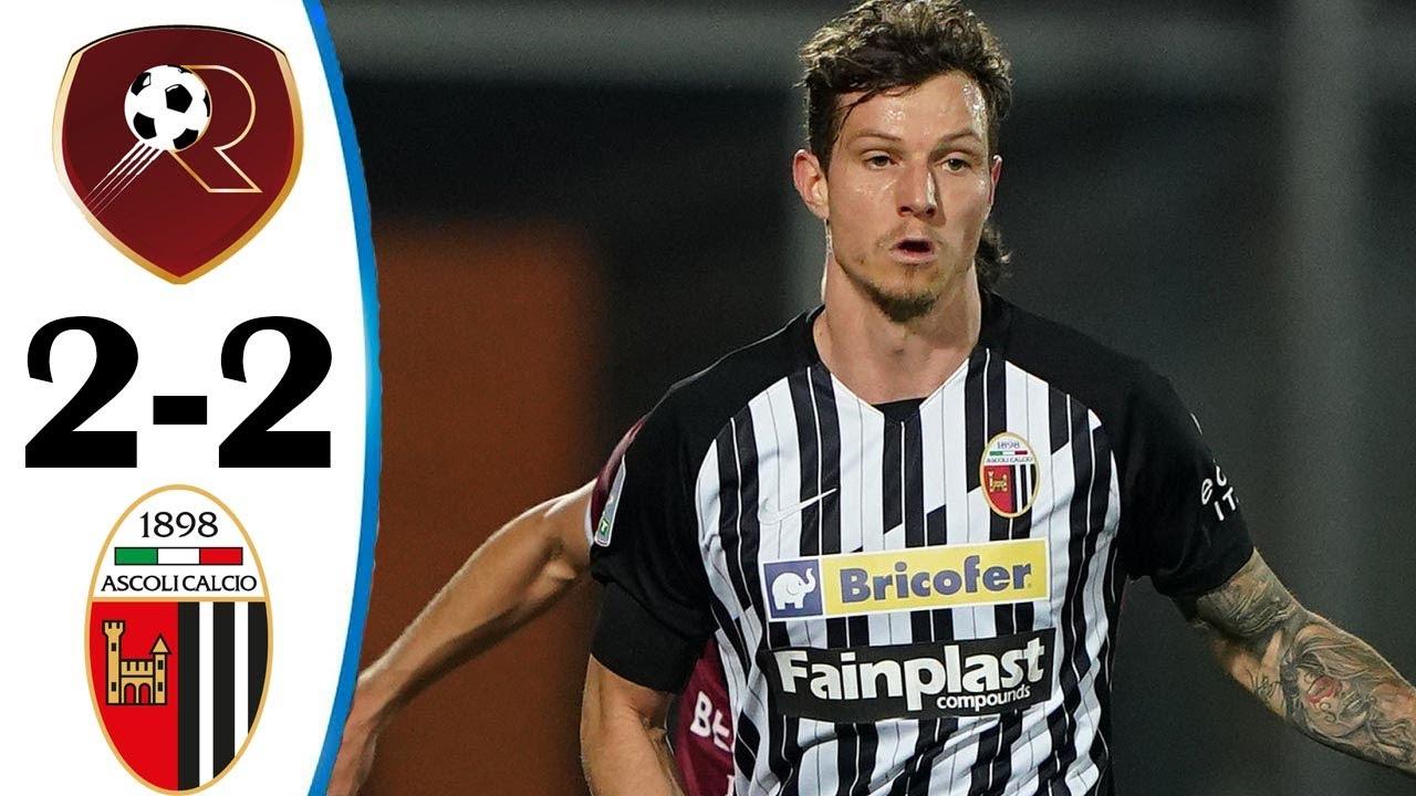 Reggina vs Ascoli 0-0 All Goals & Highlights 04/05/2021 HD - YouTube