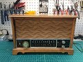 Zenith K731 - New Line Cord, Brief Power Up & UL Captive Knobs
