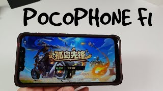Pocophone F1 Ride Out Heroes Gameplay! Realm Royale Ultra Max graphics 60fps snapdragon 845