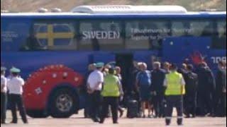 В Геленджик прилетела сборная Швеции - Россия 24