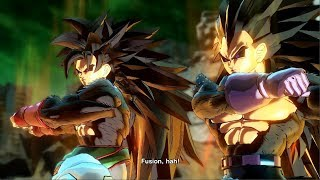 Super Saiyan 8 Goku & Vegeta Fusion - Dragon Ball Xenoverse 2 Mods