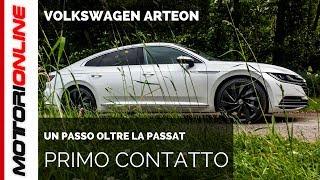 Volkswagen Arteon | Test Drive in Anteprima