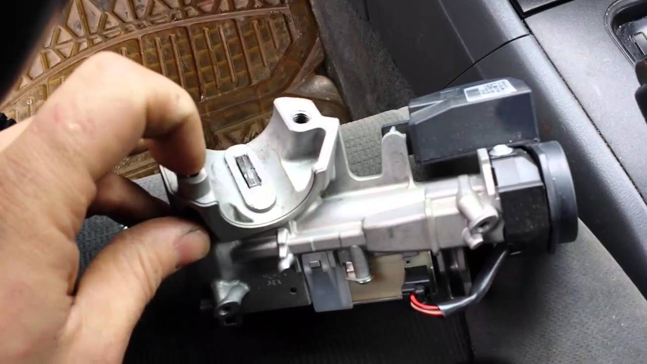1991 honda civic wiring diagram general electric motor how to replace ignition lock and reprogram keys on your 1998-2012 accord. step by ...