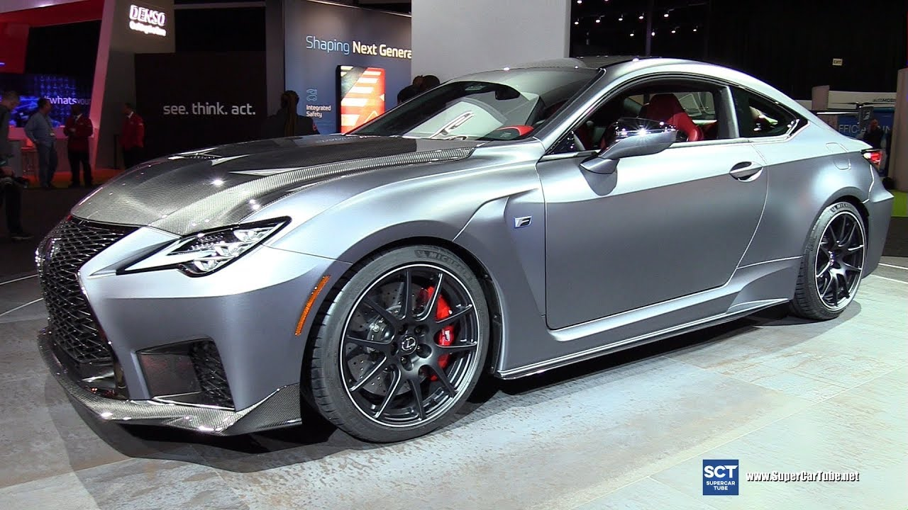 2019 Lexus Rc F Track Edition Exterior And Interior Walkaround