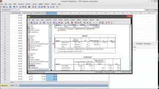 Path Analysis: Regression Test, SPSS