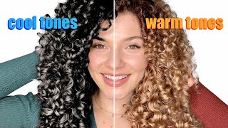 HOW TO PICK THE PERFECT HAIR COLOR FOR YOUR SKIN TONE + EYE COLOR