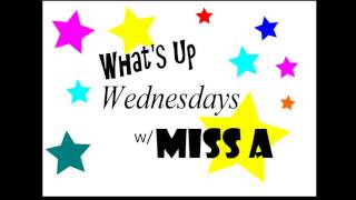 """What's Up Wednesdays"" Show #1 (Aewen Kpop Radio) Thumbnail"