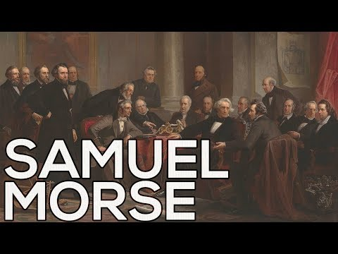Samuel Morse: A collection of 37 paintings (HD)