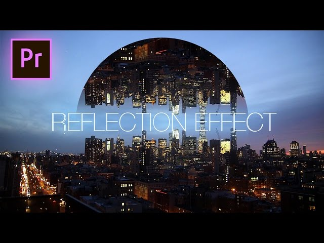 Geometric Reflection Video Effect - Adobe Premiere Pro CC 2017 Tutorial