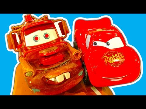 Disney Cars Collection 1 Amazing Mater, Finn McMissile, Lightning McQueen Toy Cars