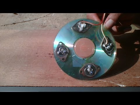 Free Energy, Solar  X4 2N3055 Transistor , Homemade Solar Cell From Diode 2017