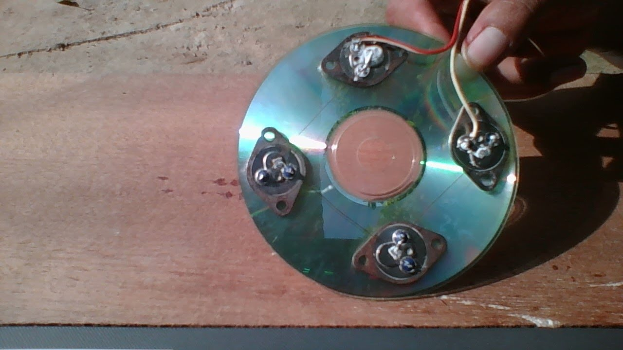 How To Make An Electric Motor >> Free energy, solar X4 2N3055 transistor , homemade solar ...