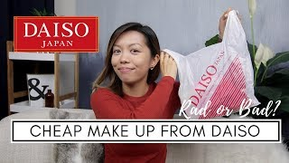 Cheap Make Up From DAISO | Rad or Bad?