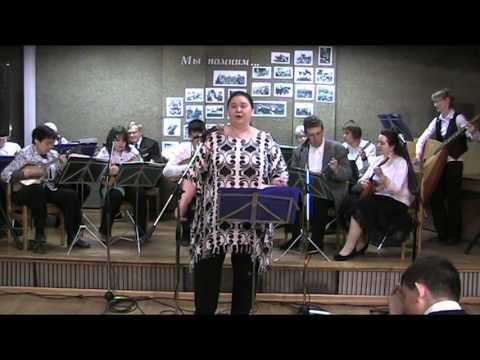 """Анжелика Дубс и оркестр """"Музыкальный момент"""" фрагмент концерта"""