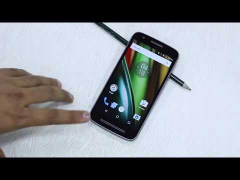 Moto E3 Power Tips and Tricks