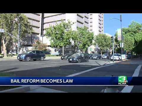 Bail reform becomes law in California