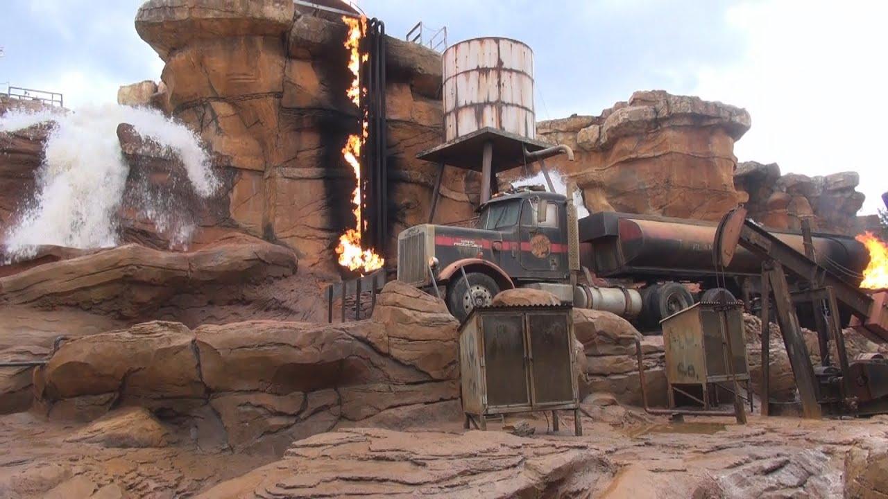Disneys Hollywood Studios Backlot Studio Tour On-ride ...