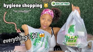 shopping for hygiene products at dollar tree (underrated products you NEED!)