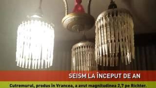 Primul cutremur din acest an din România