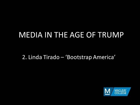 Media in the age of Trump - Bootstrap America