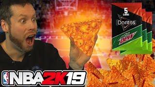 Can a Dorito draft my Team? NBA 2K19