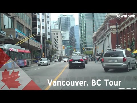 An American driving around Vancouver: Burnaby to Stanley Park